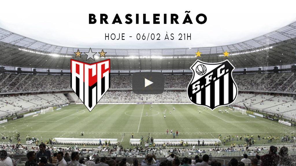 Atlético x Santos ao vivo hoje