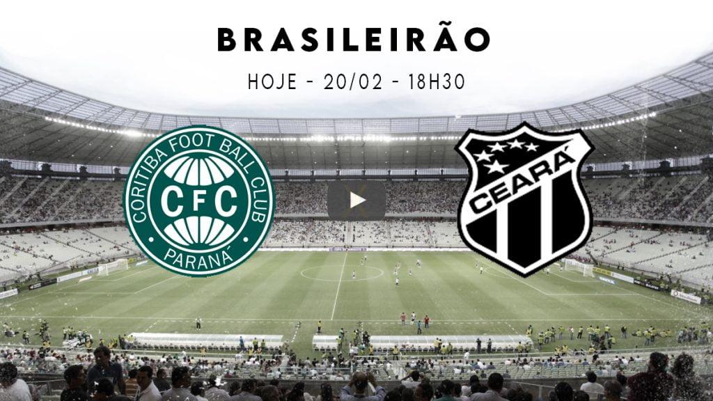 Coritiba x Ceará - jogo ao vivo