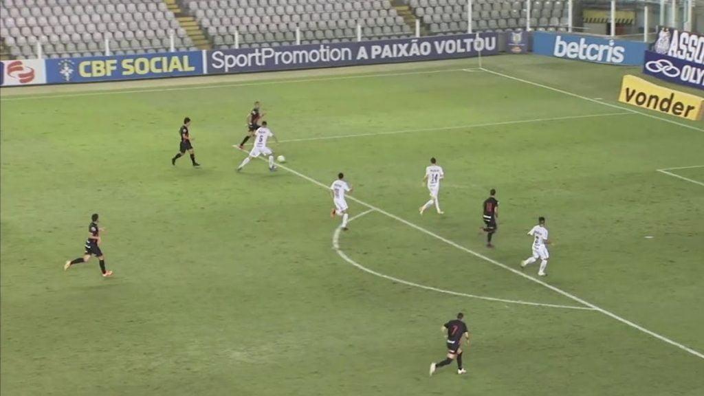 Jogo ao vivo: Atlético-GO x Santos