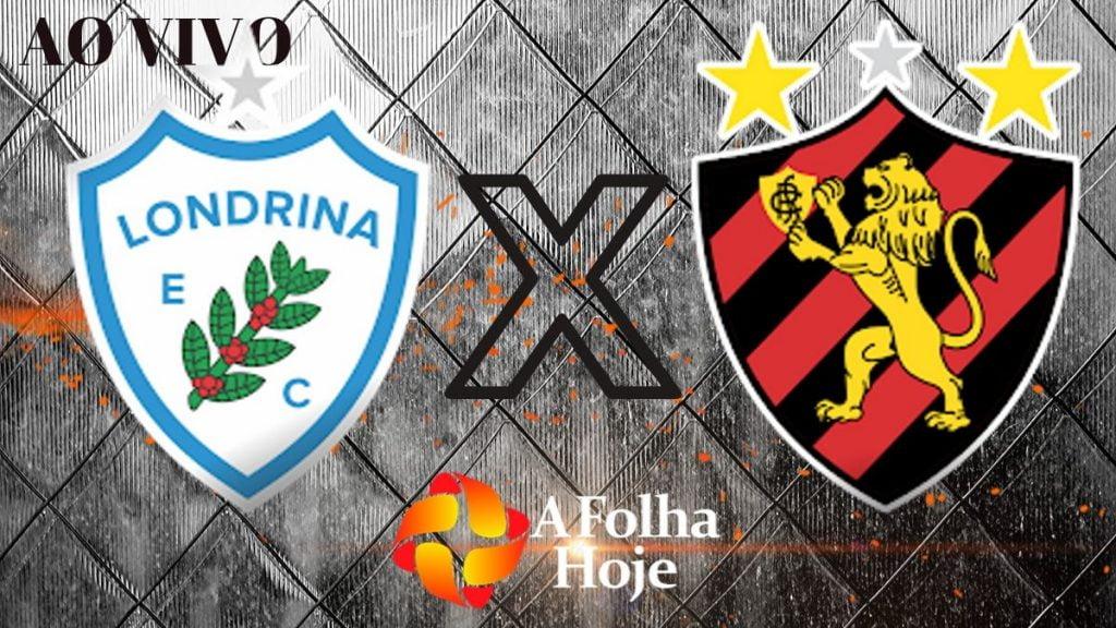 FUTEBOL AO VIVO - Londrina x Sport Recife pela 24 rodada do Campeonato Brasileiro série B. (Imagem: A folha hoje)