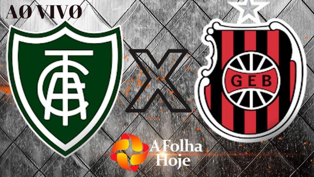 FUTEBOL AO VIVO - América-MG x Brasil de Pelotas pela 24º rodada do Campeonato Brasileiro Série B. (Imagem: A folha hoje)