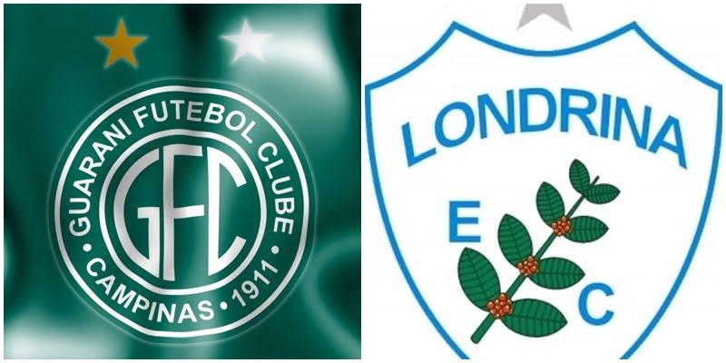 Futebol ao vivo: Guarani x Londrina ao vivo no Brasileirão série B nesta quarta (28)